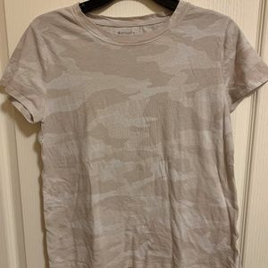 Athleta Camo T-Shirt-Medium
